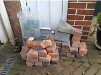 FREE TO COLLECT BRICKS AND RUBBLE