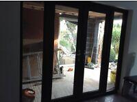 UPvc wood grain French Doors