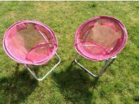 Kids' /children's garden chairs / garden furniture