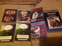 Various cassette audiobooks(horror,sci-if and fantasy)