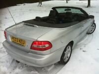 2003 VOLVO C70 TURBO CONVERTIBLE **MOT UNTIL SEPTEMBER 2018** RUNS AND DRIVES PERFECTLY