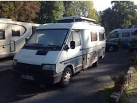 Classic Eriba car / Hymer conversion on Renault Traffic chassis