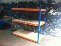 Rapid 1 industrial long span shelving 2.4m ( pallet racking , storage )