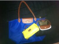 un-used DESIGNER (Longchamp)BRAND ITEMS SOLD TOGETHER FOR £160