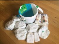 AWARD WINNING TOTSBOTS reusable nappies (birth to potty)