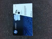 HP LASERJET INK CARTRIDGE. HP 11A