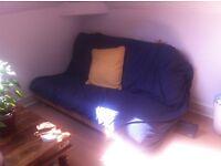 Double futon with matress