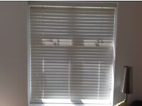 Hillarys White Wooden Blinds x 2, Fab Condition