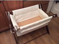Saplings folding baby Katie crib