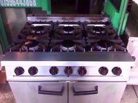CATERING COMMERCIAL GAS COOKER OVEN FAST FOOD CAFE RESTAURANT KEBAB BBQ SHOP KITCHEN FAST FOOD BAR