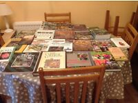 Large collection of gardening books