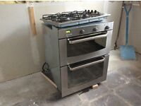 Whirlpool gas hob and double oven