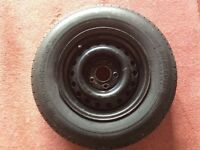 "Wheel for a caravan 4"" 1/4 PCD 175 x 14"