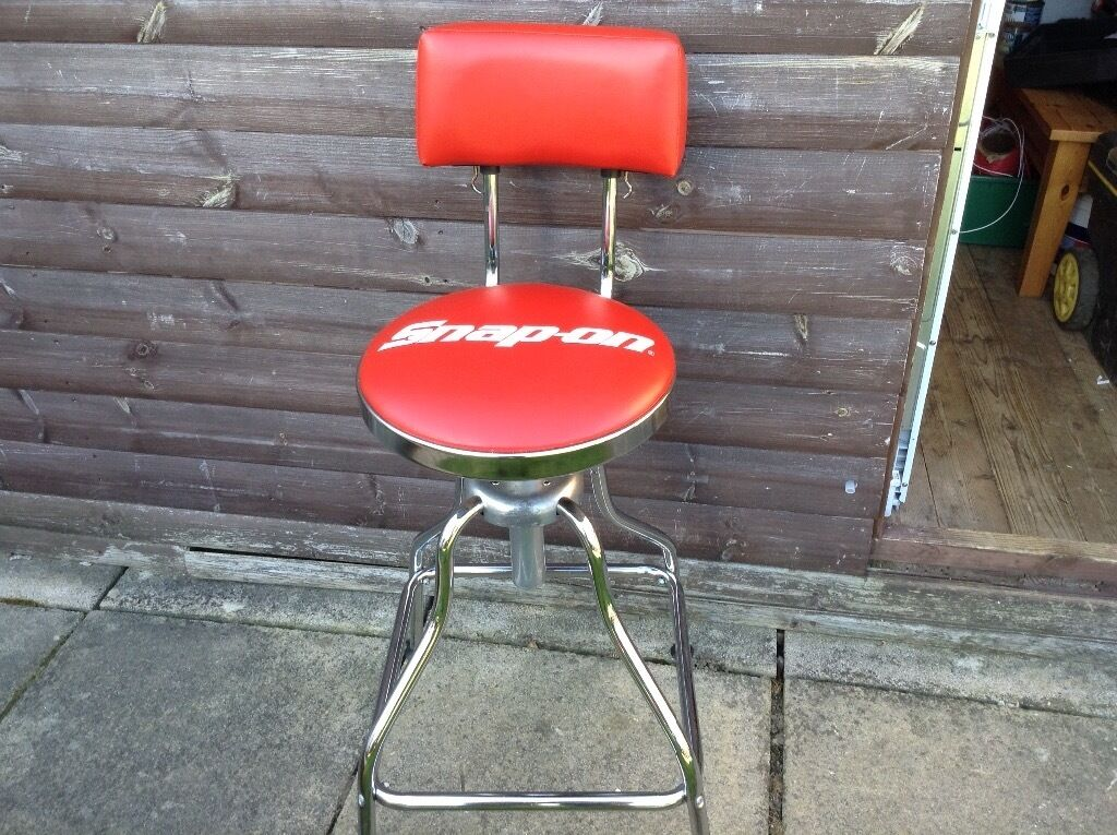Snap On Tools Bar Stool Mint Garage Man Cave Stool In