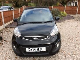 Kia Picanto VR7 (14reg) 1 lady owner immaculate condition. FSH