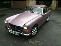 Beautiful and unique Purple/Lilac MG Midget for sale