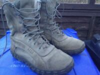Military boots size eight