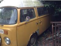 Volkswagen bay window camper forsale