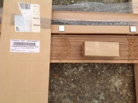 Wooden blinds, various sizes and colours £10'each