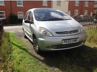 Citroen PICCSSO 2.0 HDI diesel 2003 9 month m.o.t very reliable sunroof cruise control 160 k