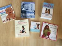 Large Bundle of Parenting Baby & Childcare Books The Baby Whisperer, Dr Spock, Dr Miriam Stoppard
