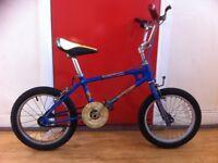 """Boys Classic Raleigh Burner Mini - refurbished 16"""" wheels."""