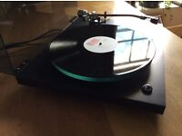 Rega Planar 3 turntable with Empire arm - recent refurb by Loud and Clear, sounding great.