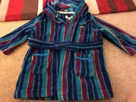 Boy's Ted Baker dressing gown age 2-3