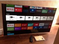"SONY 55"" SUPER Smart ULTRA SLIM LED ANDROID TV-55W756,built in Wifi,YOUVIEW,EXCELLENT CONDITION"
