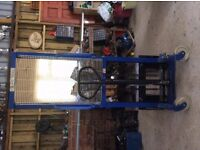 High lift pallet truck. HAND PALLET STACKER