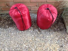 Two as new Sleeping Bags