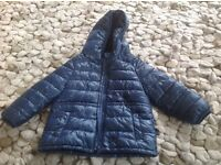 Benetton navy winter coat