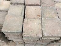 16 square meters block paving
