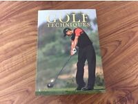 Set of 7 golf books
