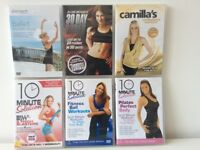 Fitness DVDs £3 each (or 6 for £15)
