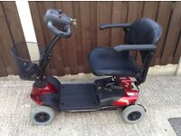 CareCo Dynamo 4 MPH Car Boot Style Mobility Scooter in Excellent Condition with User Booklet