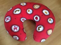 Breastfeeding pillow, washable cover
