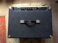 Ampeg BA115 Bass combo used but in very good condition. In good working order. Not a V2 so it tilts