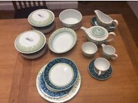 Wedgwood Alpine 12 piece dinner service and more