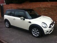 MINI COOPER D CLUBMAN, LONG MOT, FULL HISTORY, PANORAMIC GLASS ROOF, ALLOYS & ONLY £21 A YEAR TAX
