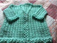 Ladies crochet cardigan
