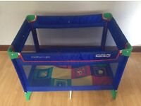 Mothercare travel cot in good condition. Suitable for up to 2.5 years old. Easy to use.