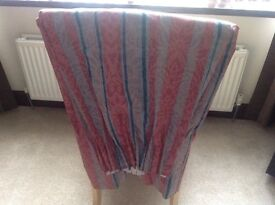 Pair of made to measure curtains