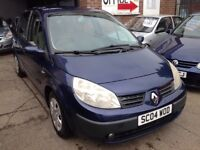 2004 RENAULT SCENIC 1.4 16V EXPRESSION - 10 MONTHS MOT, 87K GENUINE MILES, DRIVES WELL, PX TO CLEAR!
