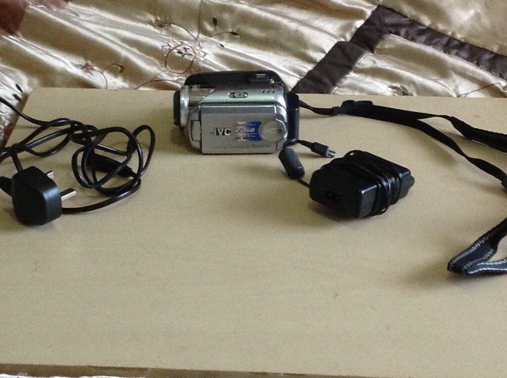 JVC 20gb camcorder