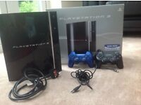 PlayStation 3 with 2 controllers for sale