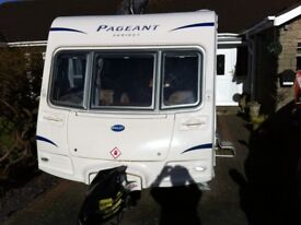 "Bailey Pageant ""Sancerre"" 2010 yr, 4 berth, Fixed bed,end bathroom,excellent condition throughout"