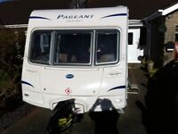 """Bailey Pageant """"Sancerre"""" 2010 yr, 4 berth, Fixed bed,end bathroom,excellent condition throughout"""