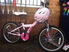 "Girls pink bmx bike, Apollo kinx 20"""
