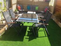Garden table&4 chairs